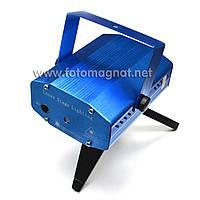 Диско Лазер S-D09 (Лазерный проектор, цветомузыка, стробоскоп)