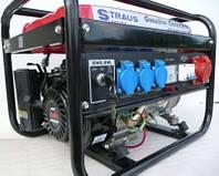 Генератор Straus Austria 3,5 kW 3 фазы, бензин, электростартер