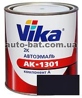 456 Автоэмаль двухкомпонентная акриловая автокраска Vika 456 Темно-синяя 0,85кг
