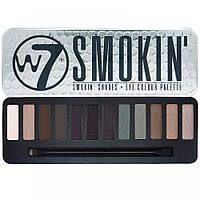 Палетка теней W7 Smokin' Shades Eye Shadow Colour Palette, фото 1
