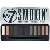 Палетка теней W7 Smokin' Shades Eye Shadow Colour Palette
