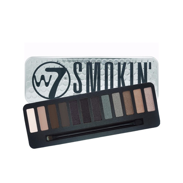 Палетка теней W7 Smokin' Shades Eye Shadow Colour Palette