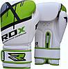 Перчатки боксерские RDX Boxing Glove BGR-F7 Green 12oz