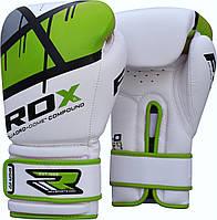 Перчатки боксерские RDX Boxing Glove BGR-F7 Green 12oz, фото 1
