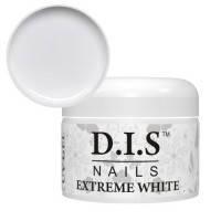Гель DIS Extreme White (холодно-белый,не имеет липкого слоя) 30 г.