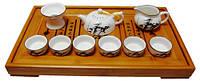 Набор для чайной церемонии, чайник-130 мл, чахай-130мл, пиалы-50мл, сито, 300х125х300