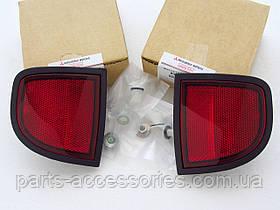 Mitsubishi L200 2006-12 катафоты отражатели задние катафот отражатель левый правый новые оригинал