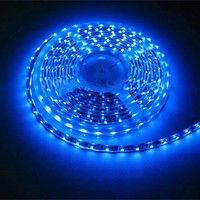 Светодиодная лента SMD3528 4,8W 60 LED/m IP65 синий Blue