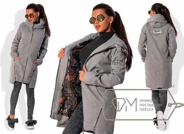 Кашемировое пальто с капюшоном, фото 2