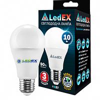 LED лампа LEDEX 10Вт E27 950лм 3000К 270º чип Epistar (Тайвань)
