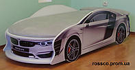 Кровать машина BMW белая