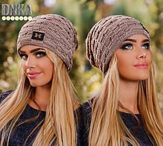 Женская теплая шапка, фото 3