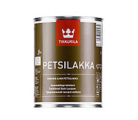 Лак алкидный TIKKURILA PETSILAKKA, орех, 1л