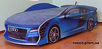 Кровать машина AUDI синяя