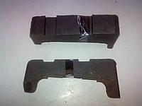 Подушка крепл. радиатора ГАЗ 3102 левая (покупн. ГАЗ, ЯРТИ)