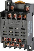 Разъем модульный e.control.p104s для промежуточного реле 10А на 4 группы контактов