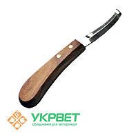 Нож для копыт Kruuse двухсторонний (широкое лезвие)