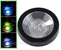 LED подставка под стакан тип2 белая