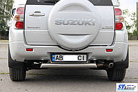 Suzuki Grand Vitara Задняя защита AK002