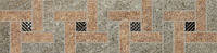 Плитка для пола Керама Мараци Бордюр Эйгер мозаичный