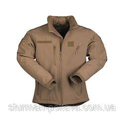 Куртка тактична SCU 14 (SOFTSHELL) колір кайот Німеччина