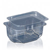 Пластиковая упаковка для салатов и полуфабрикатов ПС-140