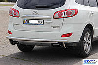 Hyundai Santafe Задняя труба защита AK002