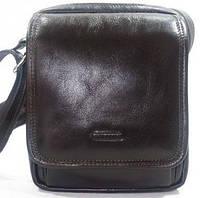 Замечательная мужская сумка через плечо из натуральной кожи Katana  K98101-2 темно-коричневый