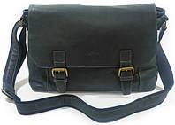 Универсальная мужская сумка через плечо из натуральной кожи Katana  K21903-1 черный