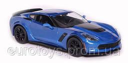MAISTO Автомодель (1:24) 2015 Chevrolet Corvette Z06 синий