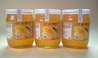 Липовый мед 2016 года - Натуральный липовый мед - Цветочный мед - Липовий мед 0,5 литра