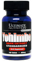 Ultimate Nutrition Yohimbe 100 tab