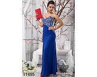 Эффектное  вечернее женское платье в пол  42-44, доставка по Украине