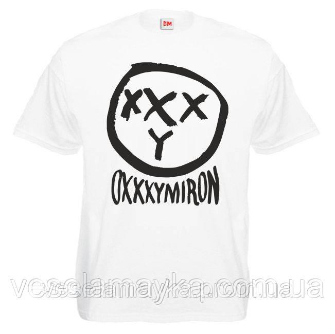 """Футболка """"Oxxxymiron 3 (Оксимирон)"""""""