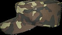 Кепка камуфлированная зимняя ткань грета
