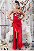 Эффектное  вечернее женское платье в пол  42-46, доставка по Украине