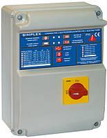 Fourgroup SIMPLEX-UP серия электронных пультов для управления и защиты одного электродвигателя