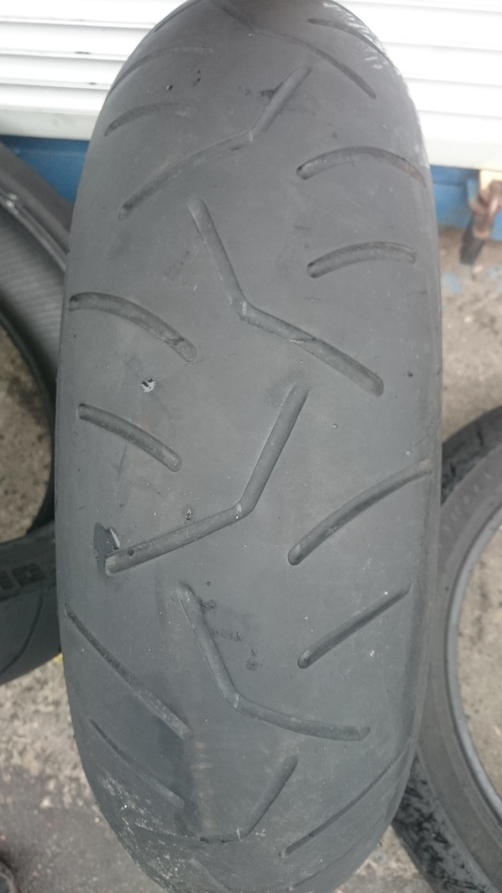 Мото-шина б\у: 160/60R17 Bridgestone Battlax BT014R