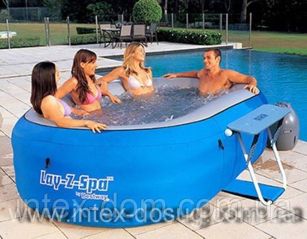 Надувной бассейн джакузи BestWay Lay-Z-Spa 54090, 286 х 183 х 76 см киев