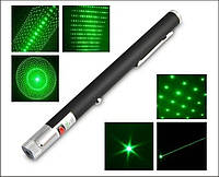 Лазерная указка Lazer Pointer + 5 насадок