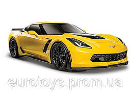 MAISTOАвтомодель (1:24) 2015 Chevrolet Corvette Z06 жёлтый
