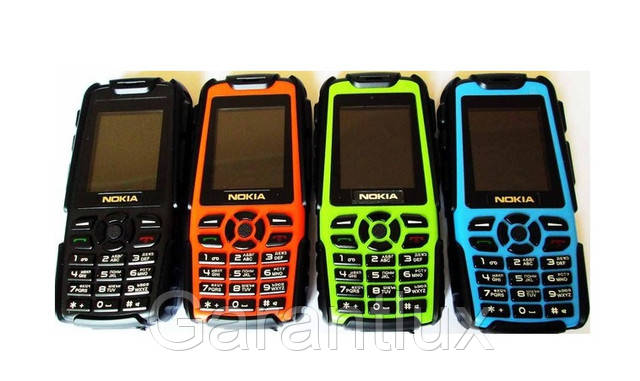 Противоударный и водонепроницаемый мобильный телефон Nokia М8 на 2 сим-карты