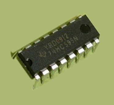 74HC595N.112, 8-и битный сдвиговый регистр с выходным регистром-защелки и тремя состояниями