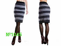 Женская юбка шерстяная 60 см