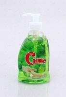 Жидкое крем-мыло c глицерином Сlime Зеленое яблоко 0,4 л с дозатором