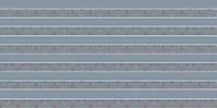Плитка для ванной Paradyz Piumetta Grys инсерто полосы