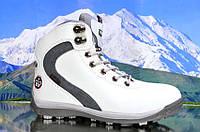 Зимние утепленные ботинки белого цвета 36-41 код: 6492816785