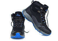 Зимние утепленные ботинки черно-синего цвета TRAPERY SOFT SHELL 41-46 код: 6542449108