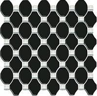 Плитка для ванной Paradyz Secret Nero мозаика стеклянная