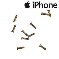 Шурупы внешние iPhone 5 / 5S / SE, золотистые (внешние, 10 шт.)